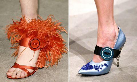 Những mẫu giày dép chỉ có trên sàn diễn Milan
