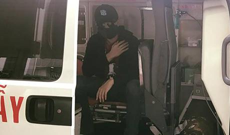 Harry Lu về Đài Loan điều trị chấn thương sau tai nạn