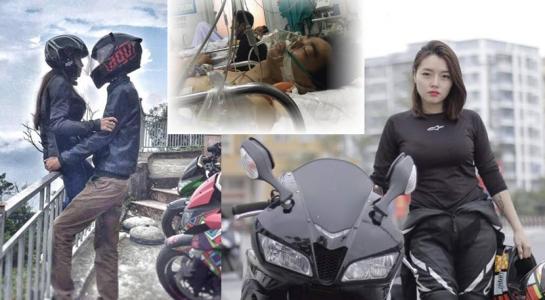 Ngôn tình có thật của chàng trai bị liệt quá nửa người và nữ biker xinh đẹp