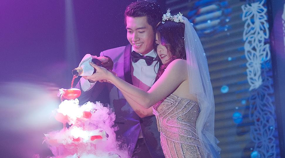 Thái Trinh, Quang Đăng thừa nhận làm đám cưới giả