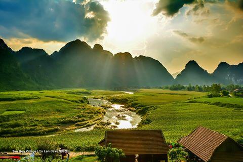 """Phim trường tự nhiên hùng vĩ của """"Kong: Skull Island"""" ở Quảng Bình"""