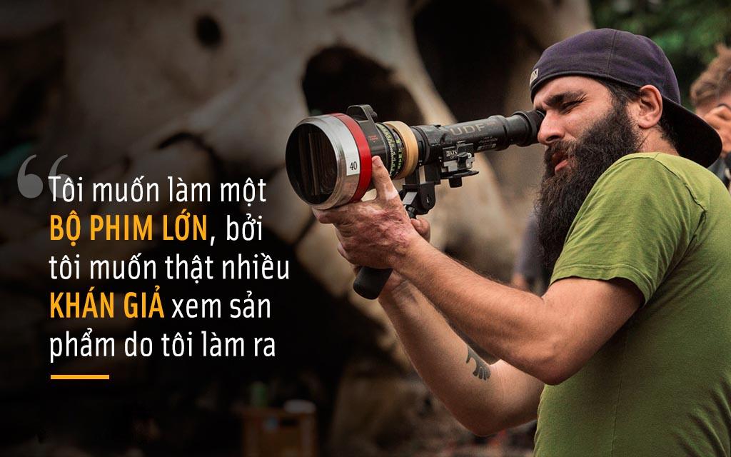 """Đạo diễn """"Kong"""": Người mang bom tấn 185 triệu USD đến Việt Nam"""