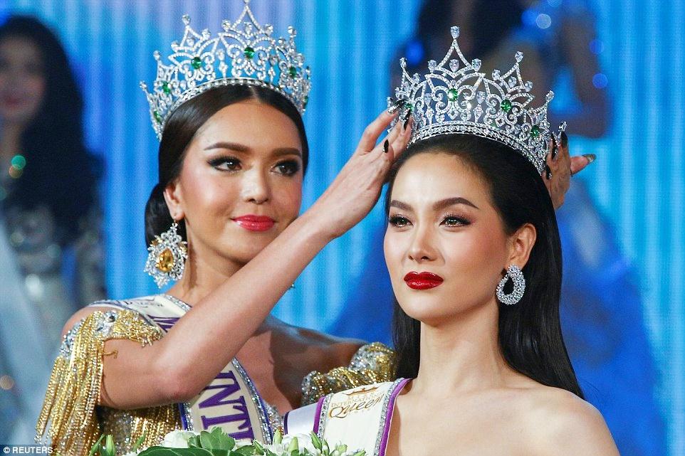 Người đẹp Thái Lan đăng quang Hoa hậu chuyển giới quốc tế