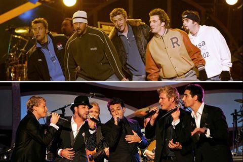 Backstreet Boys tái hợp đối thủ NSYNC sau gần 20 năm