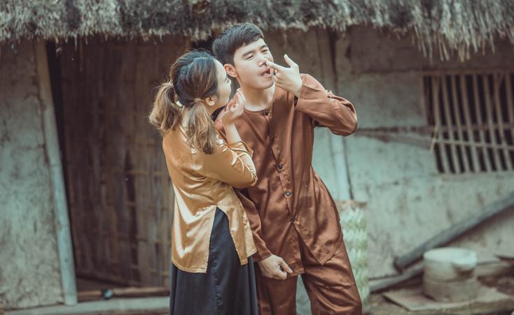Bộ ảnh cưới phong cách thôn quê của cặp đôi Thanh Hóa