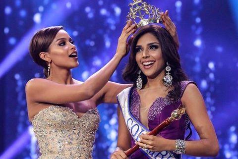 Người mẫu 21 đăng quang Hoa hậu Colombia 2017