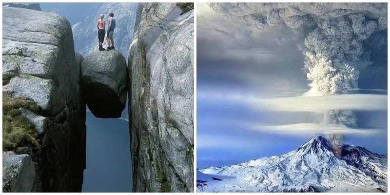 Những bức ảnh chứng tỏ trước thiên nhiên, con người thực sự nhỏ bé!