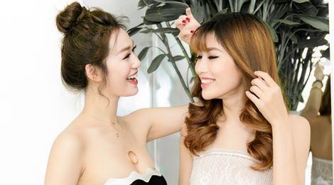 Dàn mỹ nhân showbiz Việt tạo dáng tại sự kiện
