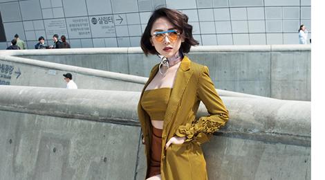 Tóc Tiên diện đầm gợi cảm thu hút truyền thông quốc tế ở Seoul
