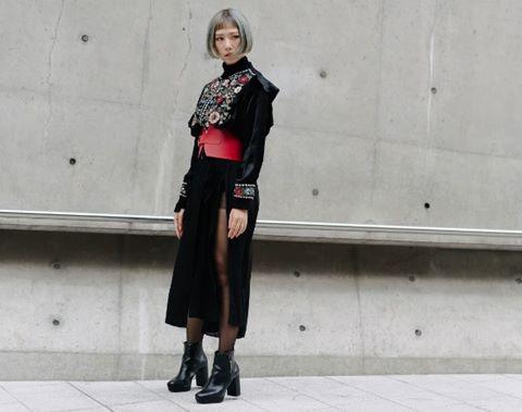 Tóc Tiên, Min xuất hiện trong bộ ảnh street style của Vogue