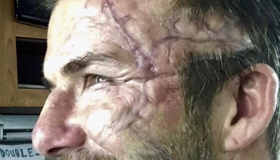 David Beckham hoá trang kinh dị trong phim mới
