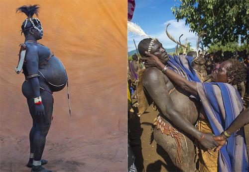 Lễ hội khoe… bụng bự ở châu Phi