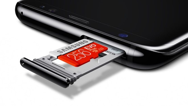 64 GB là tiêu chuẩn bộ nhớ điện thoại năm 2017