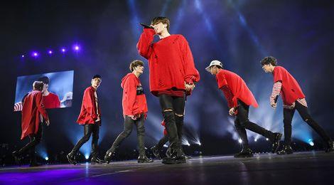 Bị dọa giết, BTS vẫn đi tour ở Mỹ thành công
