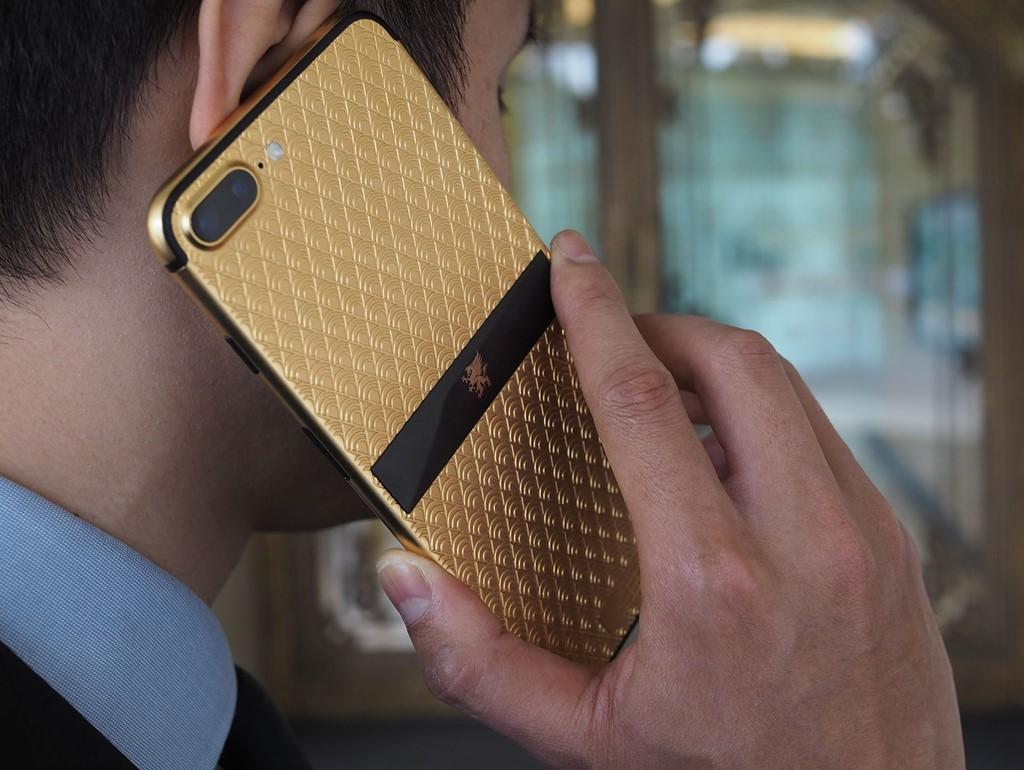 Bộ sưu tập điện thoại siêu sang từ iPhone 7 của Mobiado