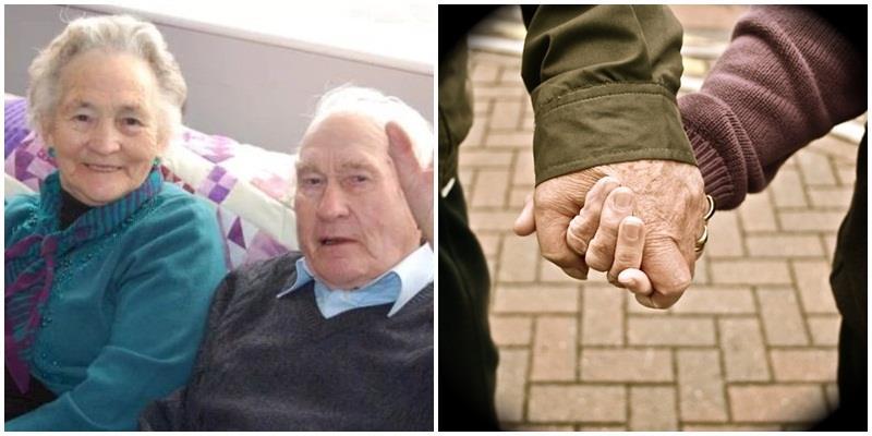 Nắm tay nhau đi suốt 70 năm, giờ đây họ lìa trần cách nhau 4 phút