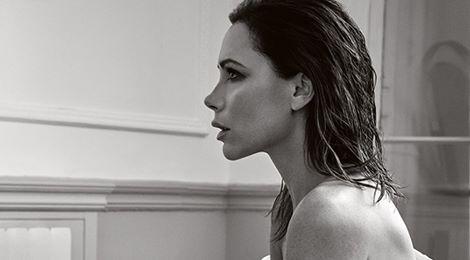 Victoria Beckham tóc ướt gợi cảm trên tạp chí