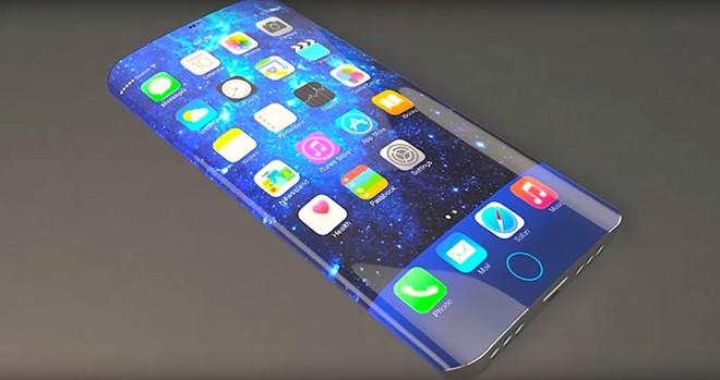 """""""iPhone 8 chắc chắn có màn hình OLED cong"""""""