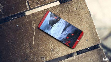 Ý tưởng thiết kế iPhone 8 màu đỏ tuyệt đẹp