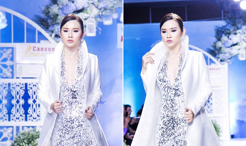 Người đẹp Thanh Trang kiêu sang như nữ hoàng trên sàn catwalk