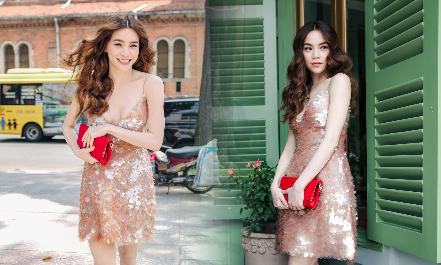 Hồ Ngọc Hà diện váy hơn 130 triệu đồng đi sự kiện