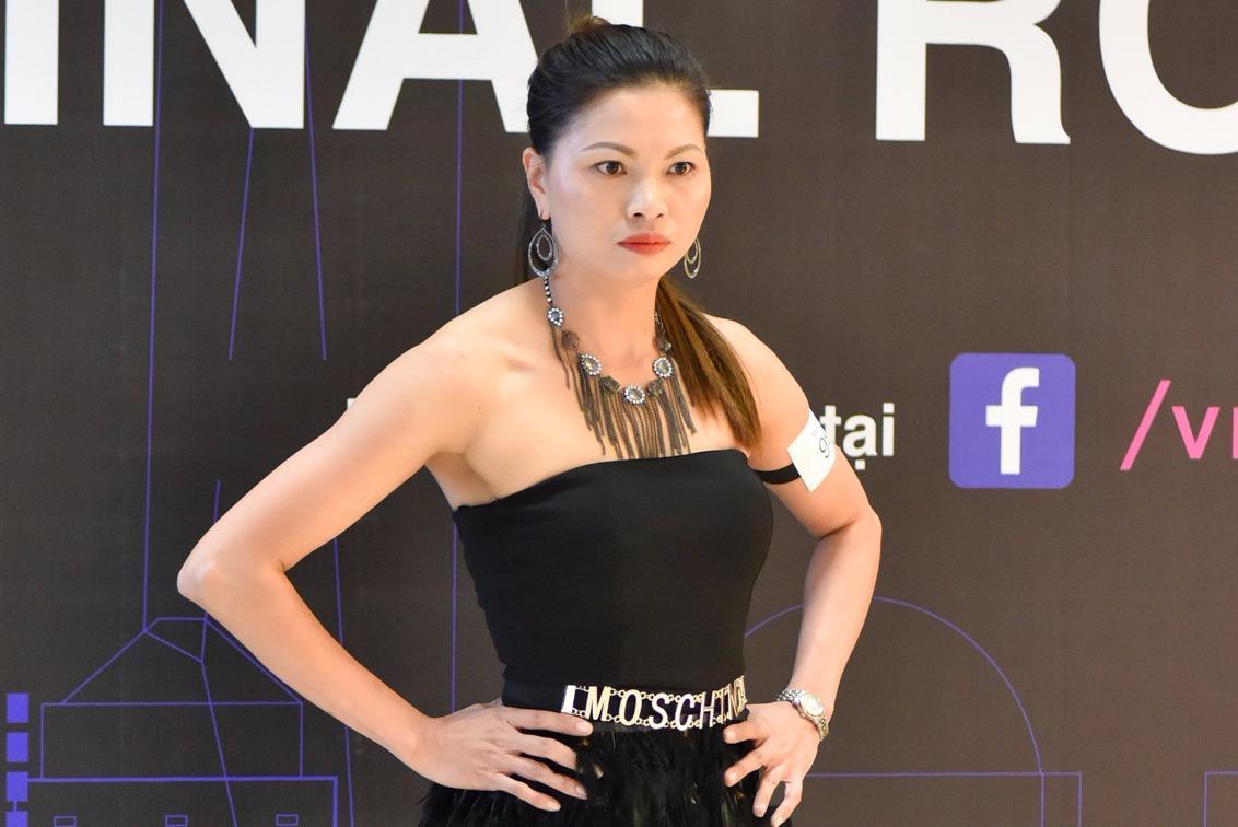 Nữ công nhân 36 tuổi đã có con tự tin thi Next Top Model