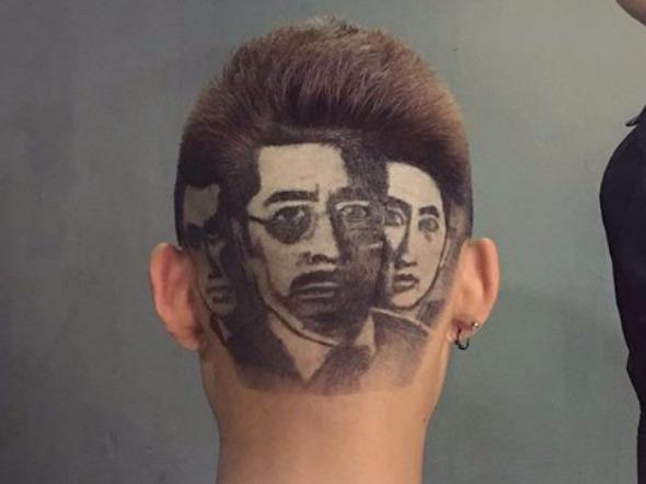 """9X tạo hình dàn diễn viên phim """"Người phán xử"""" trên tóc"""