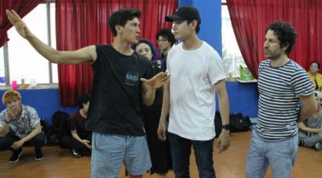 Quang Đăng tập nhảy cùng biên đạo của Madonna, Michael Jackson