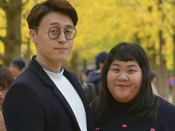 """Mối tình đẹp của """"cô nàng vịt bầu"""" và anh chàng điển trai Hàn Quốc"""