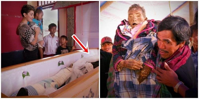 Kỳ lạ ngôi làng sống chung nhà với... xác chết suốt hơn 10 năm