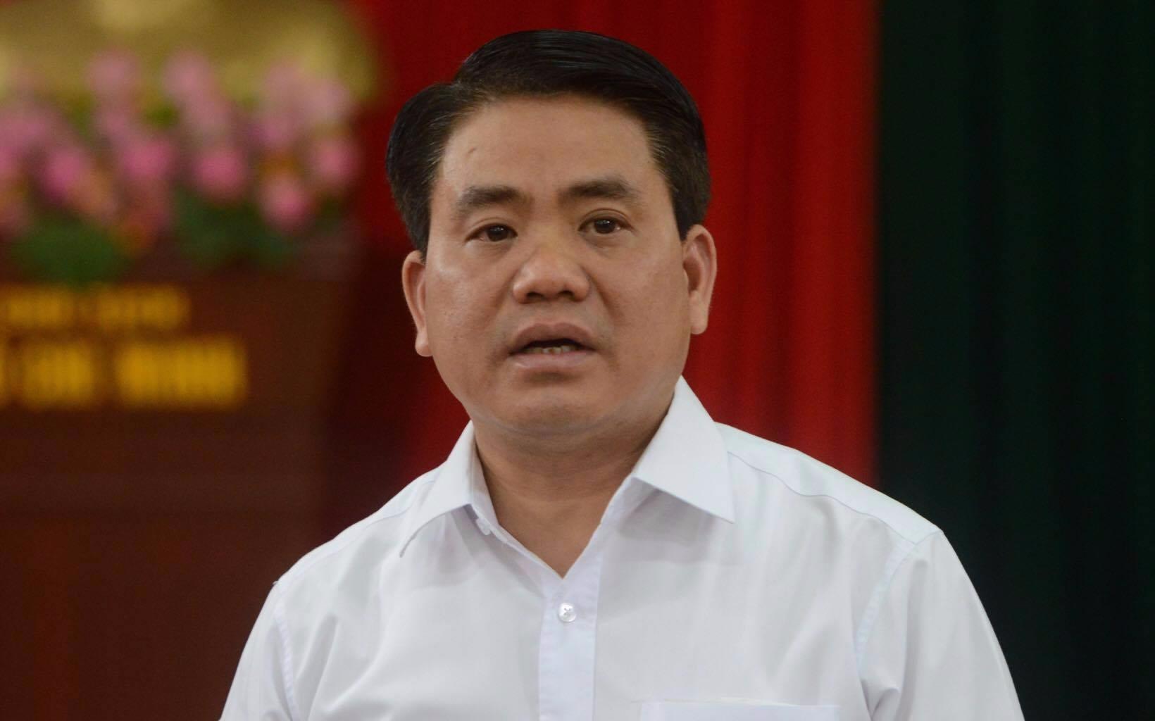 Ông Nguyễn Đức Chung đối thoại với người dân Đồng Tâm
