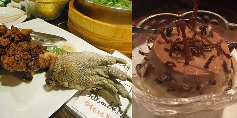 Nhà hàng Nhật chuyên phục vụ những món ăn quái đản nhất thế giới