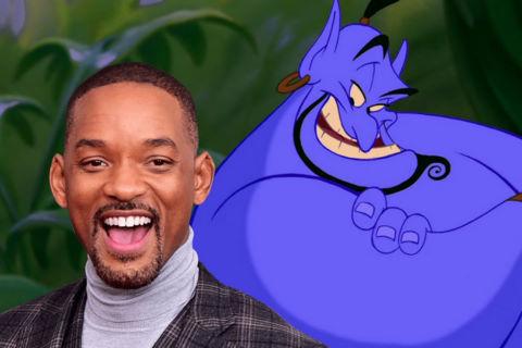 """Will Smith có thể lồng tiếng cho Thần Đèn trong phim """"Aladdin"""" mới"""