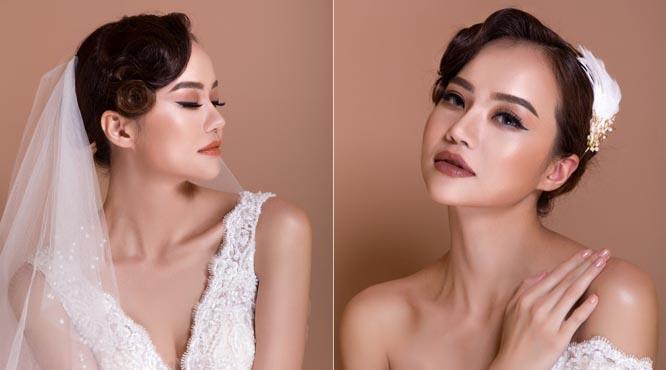 Make-up Hồ Thiên Tuấn gợi ý 2 kiểu trang điểm cưới cực chất