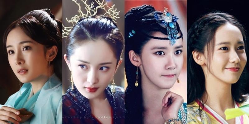"""Những ngôi sao có tài """"phân thân"""" thành nhiều vai trong phim Hoa ngữ"""