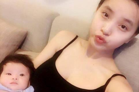 Hải Băng lần đầu chia sẻ ảnh con gái với Thành Đạt