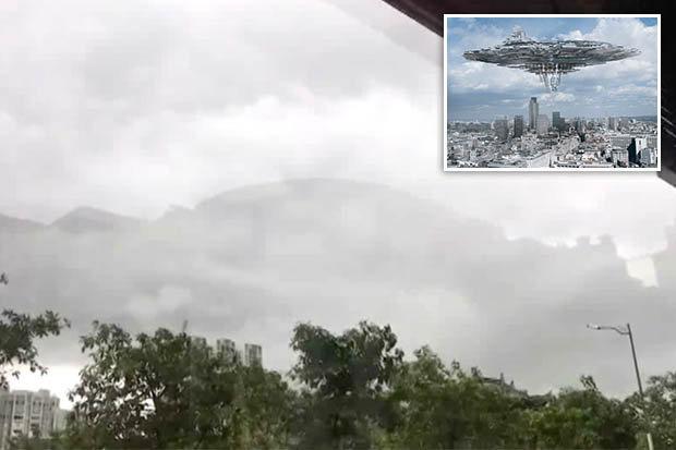Thành phố trên mây kỳ ảo tái xuất ở Trung Quốc