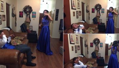 Bật khóc khi thấy bạn gái mặc váy dạ hội, 9x bất ngờ nổi tiếng