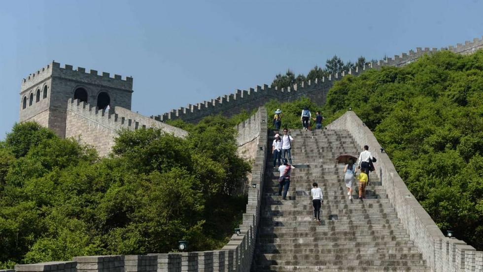 Xuất hiện Vạn Lý Trường Thành nhái ngay tại Trung Quốc