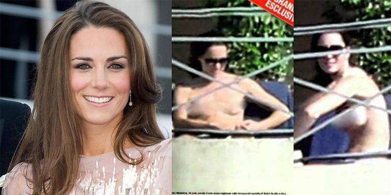 Bị phạt 36 tỉ vì đăng ảnh ngực trần của Công nương Kate Middleton