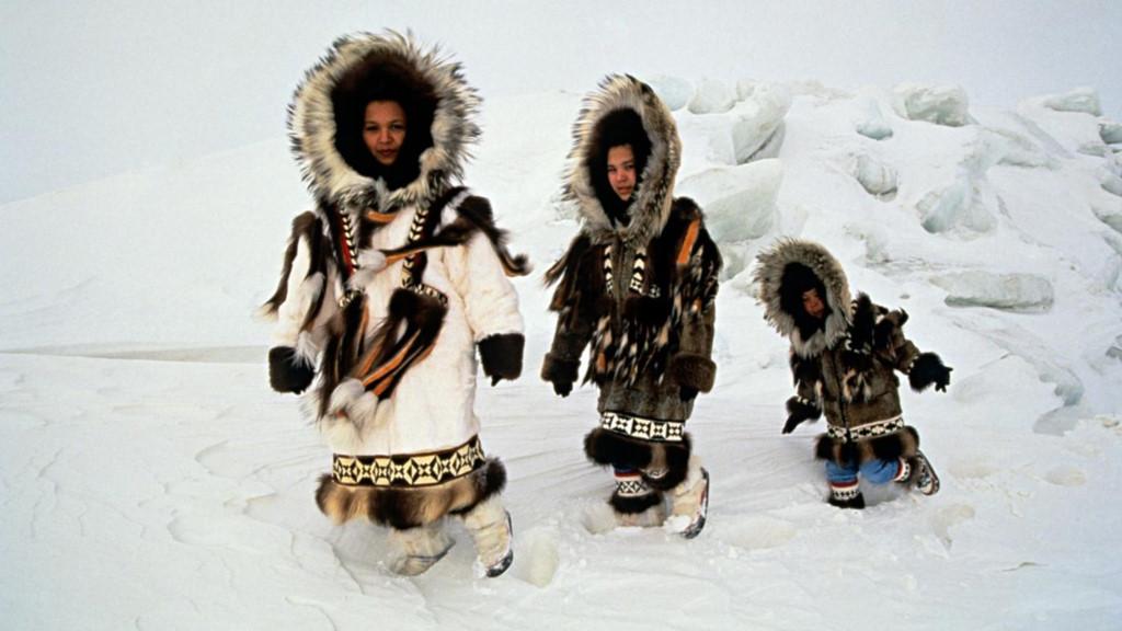 Cuộc sống ở nơi vùng cực của người Eskimo