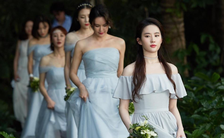 Lễ cưới sao nữ hạng B thu hút nhờ Lưu Diệc Phi và dàn phù dâu