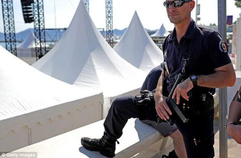 An ninh được thắt chặt tối đa trước thềm LHP Cannes 2017