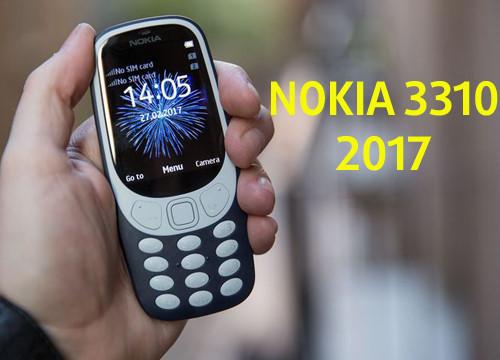 Nokia 3310 mới giá 1,06 triệu, lên kệ vài ngày tới