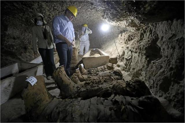 Phát hiện xác ướp Ai Cập nghìn năm tuổi