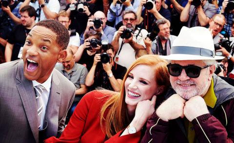 Will Smith vui cười hớn hở khi làm giám khảo Cannes 2017