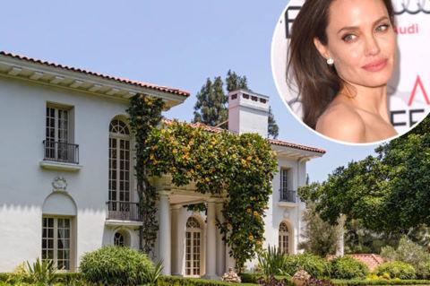 Angelina Jolie chi 25 triệu USD mua biệt thự mới gần nhà Brad Pitt