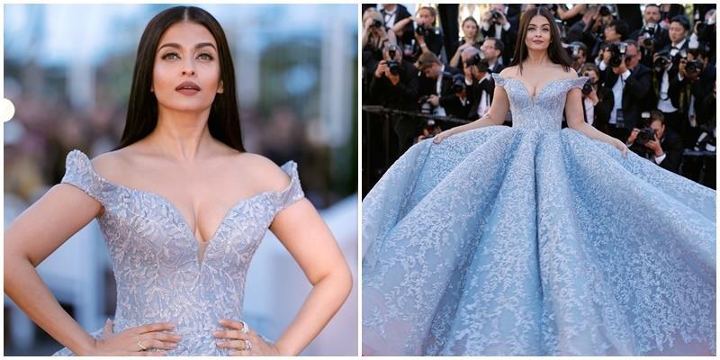 Ngạt thở chiêm ngưỡng chiếc đầm Lọ Lem lộng lẫy nhất Cannes 2017