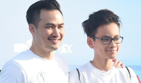 Chi Bảo lần đầu đưa con trai đi dự sự kiện