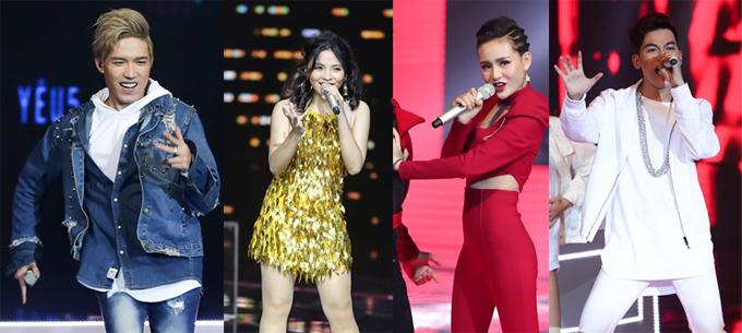 Lộ diện 4 thí sinh bước vào chung kết Giọng hát Việt 2017